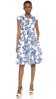 Платье-рубашка Lela Rose