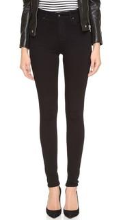 Высококачественные эластичные джинсы Farrah с высокой посадкой AG