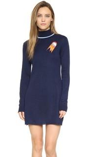 Платье-свитер с воротником под горло Anna K