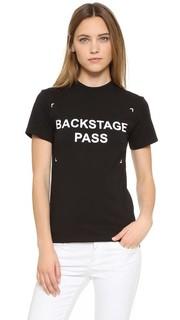 Футболка Backstage Pass