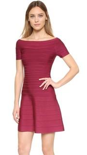 Платье Liza Herve Leger