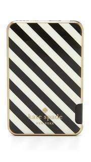 Узкий чехол-аккумулятор для iPhone с кабелем Kate Spade New York