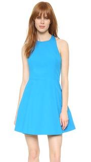 Платье Christie с широкими складками и округлым вырезом Alice + Olivia