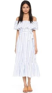 Платье в полоску Mira на пуговицах Lisa Marie Fernandez