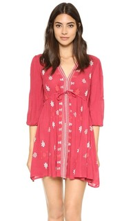 Платье с вышивкой Star Gazer Free People