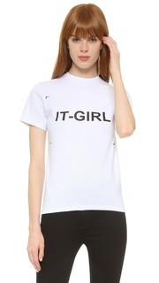 Футболка с надписью «It-Girl» Anna K