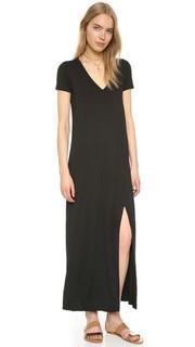 Длинное платье-футболка Connie Three Dots
