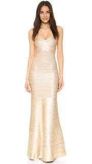 Вечернее платье Sara Herve Leger