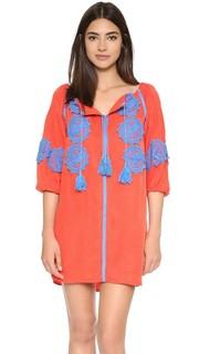 Мини-платье Beaux с декоративной отделкой Line & Dot