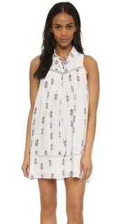 Платье с принтом Moon River