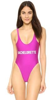 Сплошной купальник Bachelorette Private Party