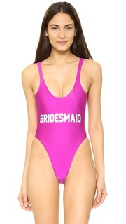 Сплошной купальник Bridesmaid Private Party