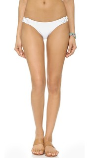 Однотонные белые плавки бикини Chris ViX Swimwear