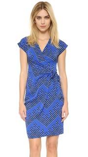 Платье Sascha с имитацией запаха Diane von Furstenberg