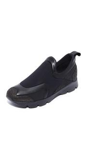 Кроссовки без шнурков MM6