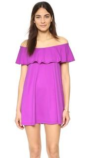 Платье с открытыми плечами Fifi Susana Monaco