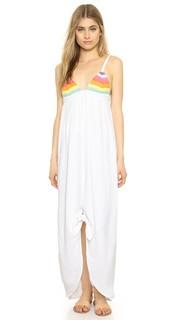 Платье Prismatic с ажурными завязками спереди Mara Hoffman