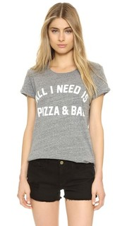 Футболка All I Need Is Pizza & Bae Private Party