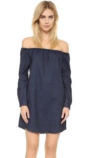 Платье с открытыми плечами Rag & Bone/Jean