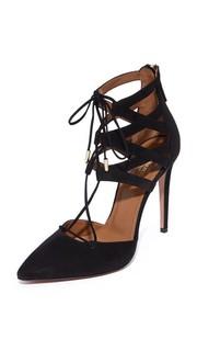 Туфли на каблуке со шнуровкой Belgravia Aquazzura