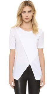Асимметричная футболка David Lerner