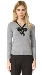 Классический свитер с вышивкой Marc Jacobs