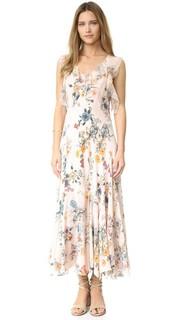Платье Meadow с оборками без рукавов Rebecca Taylor