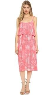 Миди-платье Paloma с оборками спереди Cupcakes and Cashmere