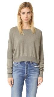 Короткий бесшовный кашемировый свитер Helmut Lang