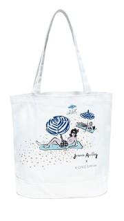 Объемная сумка с короткими ручками из холщовой ткани Kore Swim