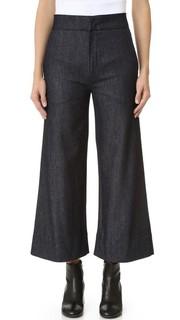 Укороченные очень широкие джинсы Victoria Victoria Beckham