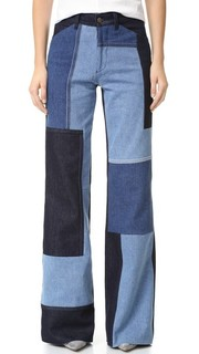 Широкие джинсы Victoria Victoria Beckham