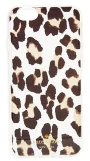 Прозрачный чехол для iPhone 6/6s с леопардовым принтом Kate Spade New York