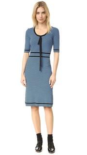 Платье-свитер в полоску Marc Jacobs