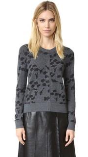 Кашемировый свитер с изображениями животных Marc Jacobs