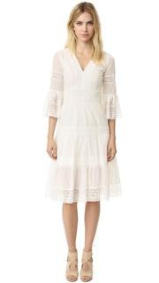 Платье Desdemona с расклешенными рукавами Temperley London