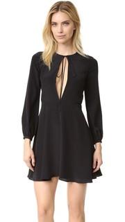 Мини-платье с завязкой спереди Amanda Uprichard