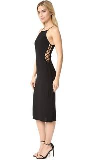 Платье Ida с кружевной вставкой сбоку Bec & Bridge