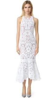 Кружевное вечернее платье Tower Jonathan Simkhai