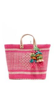 Объемная сумка с короткими ручками Ibiza Mar Y Sol
