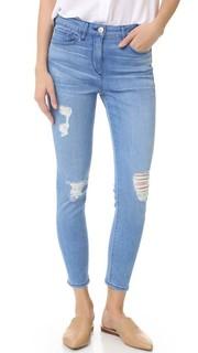 Укороченные джинсы-карандаш W2.5 3x1