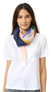 Квадратный шарф с принтом Color Field Tory Burch