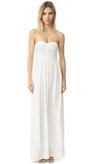Шелковое вечернее платье Parker Black Bayou