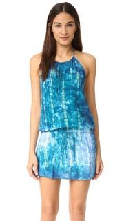 Платье с завязками уздечкой Island Blue Life