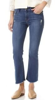 Укороченные джинсы-буткат Le Frame