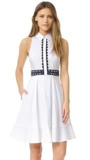 Платье-рубашка с вырезами Jonathan Simkhai