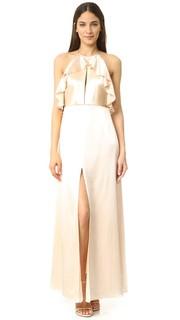 Вечернее платье с оборками Jill Jill Stuart