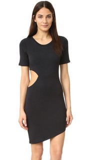 Платье-футболка с вырезами LNA