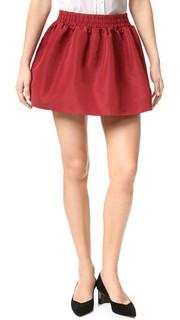 Плиссированная мини-юбка RED Valentino
