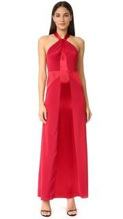 Вечернее платье с высокой горловиной Jill Jill Stuart
